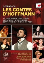 offenbach: les contes d'hoffmann - DVD