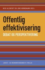offentlig effektivisering - debat og perspektivering - bog