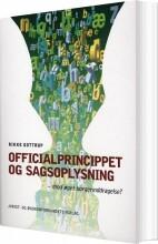 officialprincippet og sagsoplysning - bog