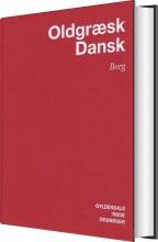 oldgræsk-dansk ordbog - bog