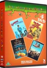 hodja fra pjort // gummi tarzan // otto er et næsehorn // lille virgil og orla frøsnapper - DVD