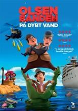 olsen banden på dybt vand - tegnefilm fra 2013 - DVD