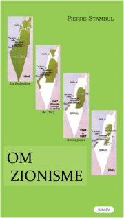 om zionisme - bog