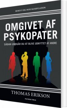 omgivet af psykopater - bog