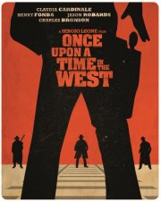 once upon a time in the west / vestens hårde halse - steelbook - Blu-Ray