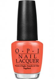 opi neglelak 15 ml - atomic orange - Makeup