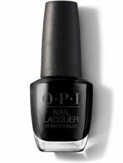 neglelak / negle lak - opi - lady in black - 15 ml - Makeup