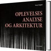 oplevelsesanalyse og arkitektur - bog