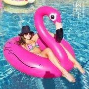 oppustelig badedyr - flamingo - Bade Og Strandlegetøj