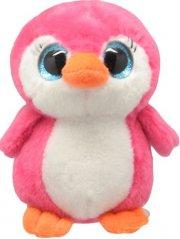 pink pingvin bamse - 15 cm - orbys - Bamser