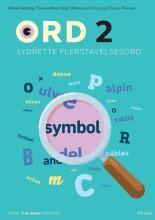 ord 2. lydrette flerstavelsesord - bog