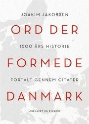 ord der formede danmark - bog