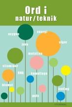 ord i natur/teknik - bog
