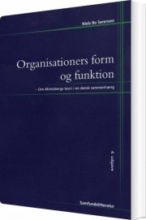 organisationers form og funktion - bog