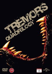 tremors // tremors 2 // tremors 3 // tremors 4 - DVD