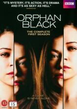 orphan black - sæson 1 - bbc - DVD