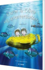 oscar & olivia og sørøverskatten - bog