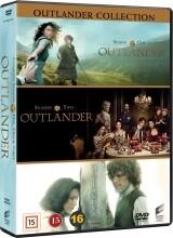 outlander - sæson 1-3 - box set - DVD