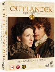 outlander - sæson 1+2 - DVD