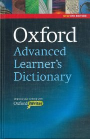 oxford advanced leaner´s dictionary,8.udg - bog