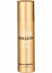 paco rabanne deodorant spray - lady million - 150 ml. - Parfume