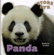 store dyr - panda - bog