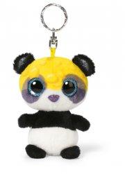 panda bamse nøglering - gofu - 9 cm - Bamser