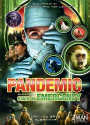pandemic state of emergency - Brætspil