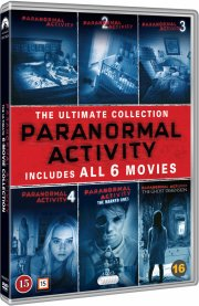 paranormal activity 1-6 - DVD