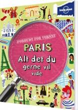 paris - alt det du gerne vil vide - bog