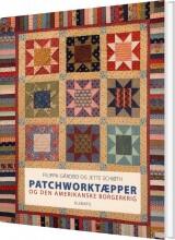 patchworktæpper og den amerikanske borgerkrig - bog