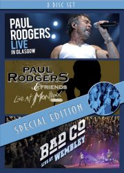 paul rodgers - live in glasgow // live at montreux 1994 // live at wembley - special edition - DVD