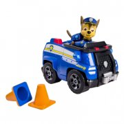 paw patrol køretøj med hund - chase's cruiser - Figurer