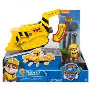 paw patrol flip & fly køretøj - rubble - Figurer
