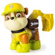 paw patrol jungle rescue figur - rubble - Figurer