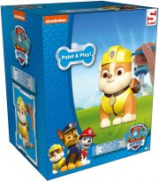 paw patrol figurer - mal selv - rubble - Kreativitet