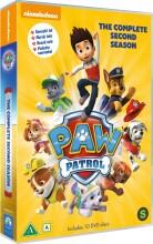 paw patrol - sæson 2 - vol. 1-10 - dansk tale - DVD