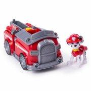 paw patrol brandbil - transforming fire engine - marshall - Figurer