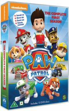 paw patrol - sæson 1 - vol. 1-10 - dansk tale - DVD