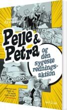 pelle & petra og den sygeste redningsaktion - bog