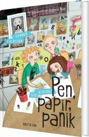 pen, papir og panik - bog
