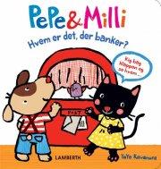 pepe & milli, hvem er det der banker? - bog