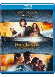 percy jackson og lyntyven // percy jackson 2: uhyrernes hav - Blu-Ray