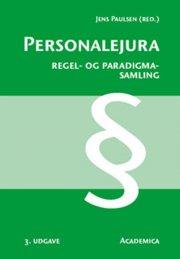personalejura - regel- og paradigmasamling - bog
