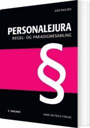 personalejura - regel- og paradigmesamling - bog
