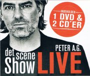 peter a.g. - det scene show - live  - CD+DVD
