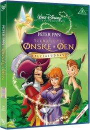 peter pan 2: tilbage til ønskeøen - specialudgave - disney - DVD