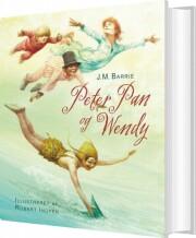 robert ingpen: peter pan og wendy - bog