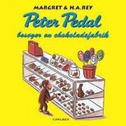 peter pedal besøger en chokoladefabrik - bog