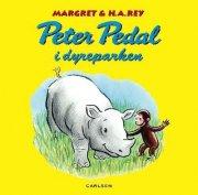 peter pedal i dyreparken - bog